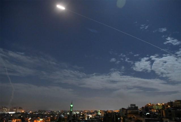 """""""Syrië onderschept Israëlische raketten: vier burgers omgekomen"""""""