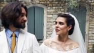 Kleindochter Grace Kelly is voor de kerk getrouwd