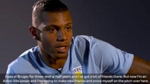 """Wesley praat voor het eerst sinds recordtransfer naar Aston Villa: """"Hou veel vrienden over aan periode bij Club Brugge"""""""