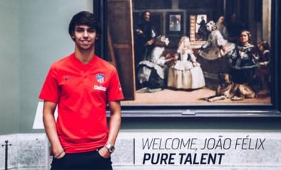 Officieel: Atlético Madrid betaalt 126 miljoen voor amper 19-jarige Joao Felix