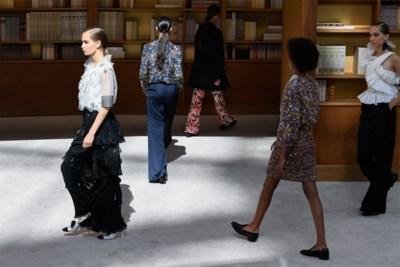 Dit was de eerste Chanel-coutureshow zonder Karl Lagerfeld