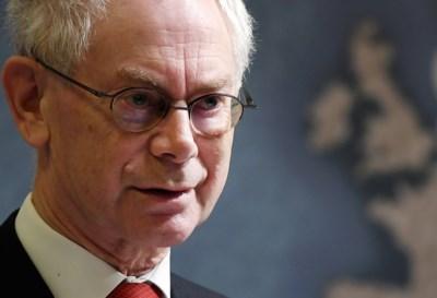 """Voorganger Herman Van Rompuy: """"Michel begint met een enorme voorsprong"""""""