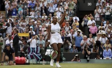 WIMBLEDON. Serena knokt zich voorbij 18-jarige qualifier, titelverdedigster is uitgeschakeld en zowel Federer als Nadal winnen