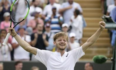 David Goffin schittert opnieuw op Wimbledon en schakelt Medvedev uit na zware vijfsetter