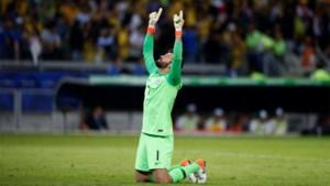 De vedette staat in doel: als Brazilië de Copa America wint, zijn de bloemen voor Alisson Becker