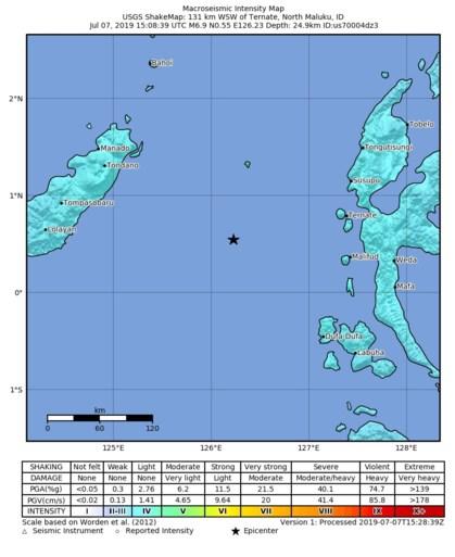 Tsunamialarm alweer opgeheven na aardbeving in Indonesië
