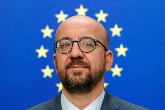 Charles Michel ontvangt kandidaat-Commissievoorzitter Ursula Von der Leyen