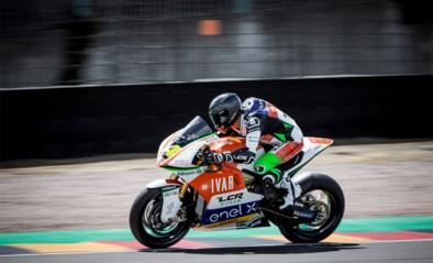 Xavier Siméon wordt zevende in eerste MotoE-race ooit