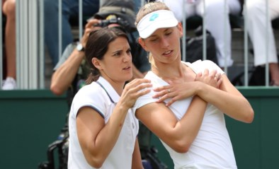 Gehavende Elise Mertens laat unieke kans op kwartfinale Wimbledon liggen