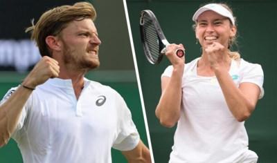 David Goffin en Elise Mertens krijgen vandaag de kans van hun leven op Wimbledon