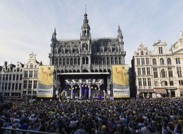 Ook grote belangstelling bij tv-kijkers voor Grand Départ in Brussel