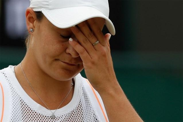 WIMBLEDON. Nummer 1 Barty verslikt zich in Riske (WTA 55), Nadal fluitend naar kwartfinale, sprookje 15-jarige Gauff ten einde