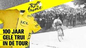 """""""Le joli canari"""", lachten de tegenstanders maar hij werd wel haast toevallig de eerste gele trui in de Tourgeschiedenis"""