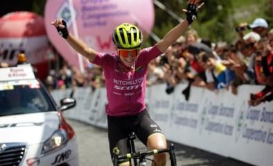 Annemiek van Vleuten grijpt de macht in Giro Rosa: ritzege en leiderstrui in koninginnenrit