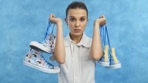 Millie Bobby Brown ontwerpt collectie voor Converse