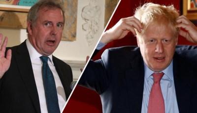 """Britse ambassadeur in VS moet ontslag nemen: """"Boris Johnson heeft hem onder de bus geduwd"""""""