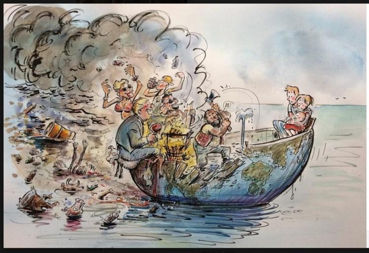 Bekende tekenaars brengen bedreigde onderwaterwereld tot leven