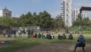 Tour is weg uit Brussel, Maximiliaanpark stroomt weer vol met vluchtelingen