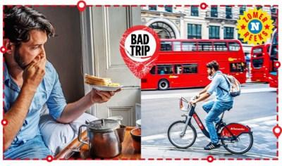 Slappe frieten, schimmeltoast en kriebels, maar niet de juiste: welkom in walgelijk Londen
