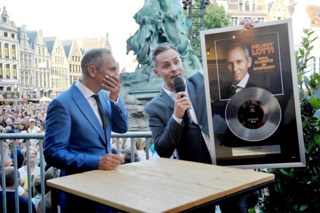 Vooral Helmut Lotti feest op 'Vlaanderen Feest'