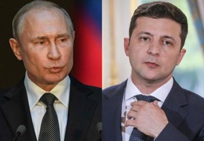 Russische en nieuwe Oekraïense president praten voor eerst over conflict in Oekraïne