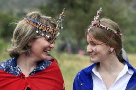 Mathilde inspireert Máxima met Kenia-trip met Elisabeth