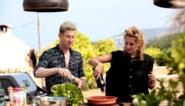 Sofie Dumont kookt met Jani en Cath Luyten op Ibiza