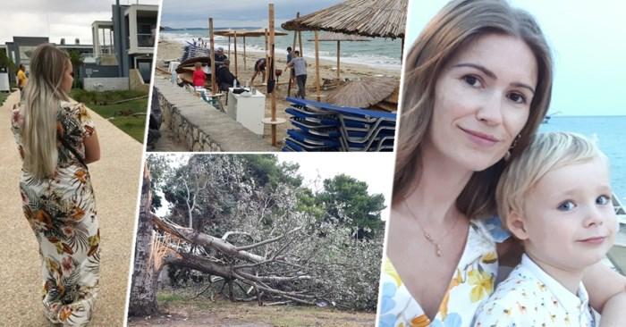 """Vlamingen getuigen over dodelijke tornado in Griekenland: """"Even dacht ik: dit is het. Het is gedaan met ons"""""""