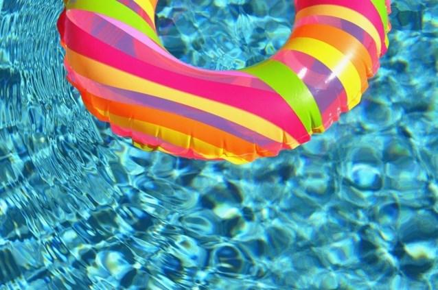Zwemmen tijdens de zomervakantie