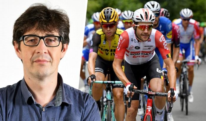 """Onze wielerspecialist Wim Vos over het """"noodzakelijke kwaad"""" in de Tour de France"""