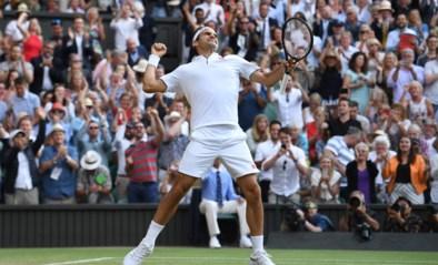 Uitmuntende Roger Federer dwingt Rafael Nadal op de knieën en staat in twaalfde Wimbledon-finale