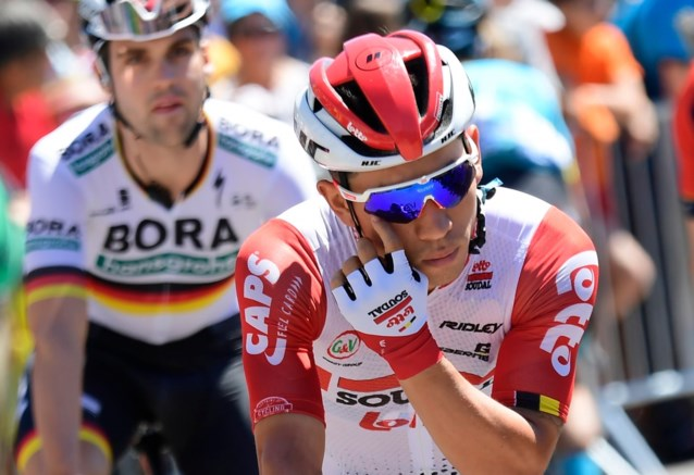 "Soudal-Lotto en Caleb Ewan al een hele Tourweek in beeld, maar nul keer gewonnen: ""Een beetje triest"""