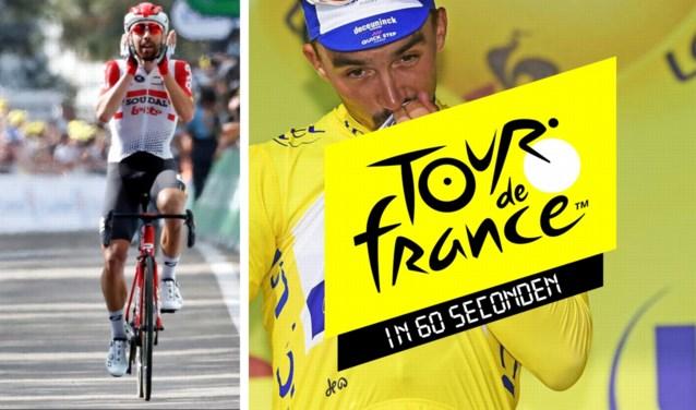 De Tour in 60 seconden: het mirakel van De Gendt, Juju opnieuw en jaune en Nibali mag u al schrappen
