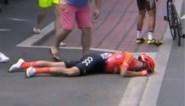 Alessandro De Marchi gaf op na zware val in de Tour en liep daarbij meerdere breuken op