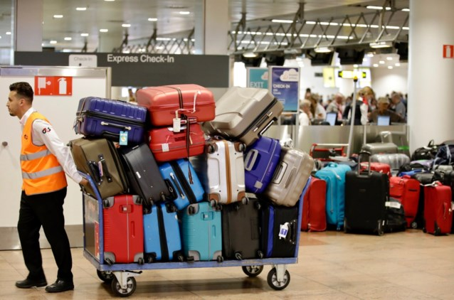 """Tienduizend bagagestukken achtergebleven op Brussels Airport: """"Zal zeker nog enkele dagen duren"""""""
