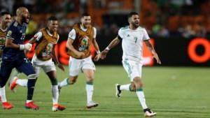 Mahrez schiet Algerije in slotminuut naar finale van Afrika Cup