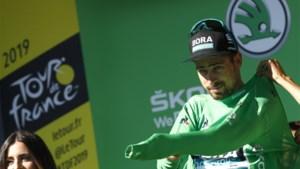 Peter Sagan bolde als àllerlaatste over de streep in de Tour de France, Julian Alaphilippe nationale held op Franse feestdag