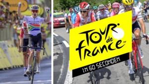 De Tour in 60 seconden: Impey verknalt Belgisch feestje, drie landgenoten in top 5 en lelijke valpartij