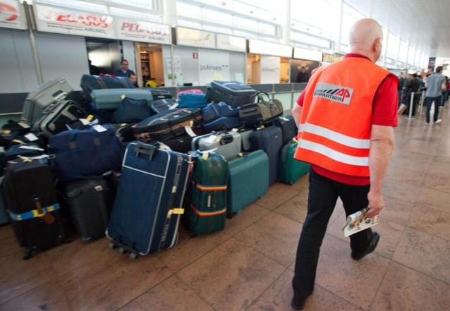 Helft van achtergebleven bagage op Brussels Airport onderweg naar bestemming
