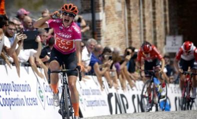 Marianne Vos verovert vierde ritzege in Giro Rosa, eindwinst gaat naar Annemiek Van Vleuten