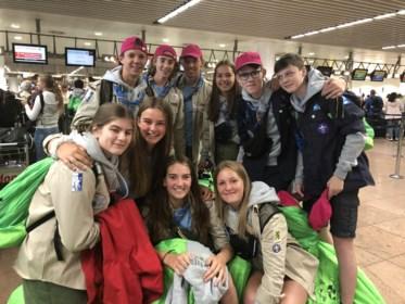 """Belgische scouts vertrekken naar grootste kamp ter wereld: """"Acht anderen uit mijn scouts, maar ik zit in een groep waar ik niemand ken"""""""