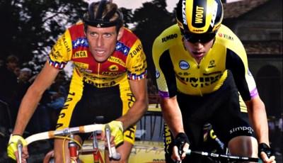 """Ook Jos van Aert reed (vier keer) de Tour: """"Wout is niet de eerste in de familie, wel de beste"""""""
