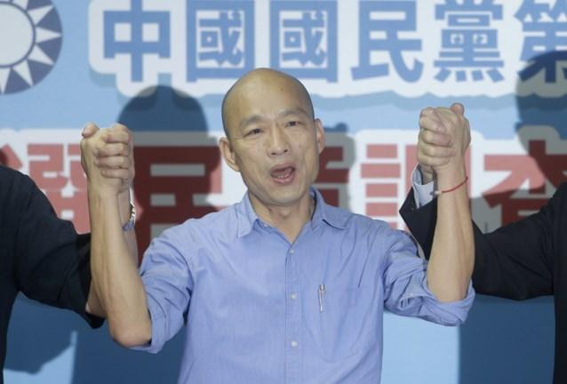 Populaire burgemeester neemt het in verkiezingen op tegen Taiwanese presidente