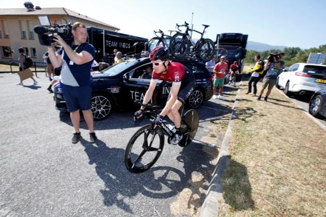 """Geraint Thomas evalueert eerste veldslagen in de Tour: """"Ik zit in mijn bubbel. Al die white noise, daar heb ik geen aandacht voor"""""""