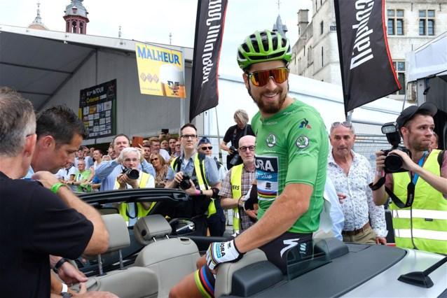 """Peter Sagan past voor na-Tourcriterium in Aalst na """"incident met warmbloedige vrouwen"""""""