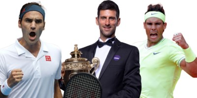 Waarom dertigers Novak Djokovic, Roger Federer en Rafael Nadal het wereldtennis blijven domineren