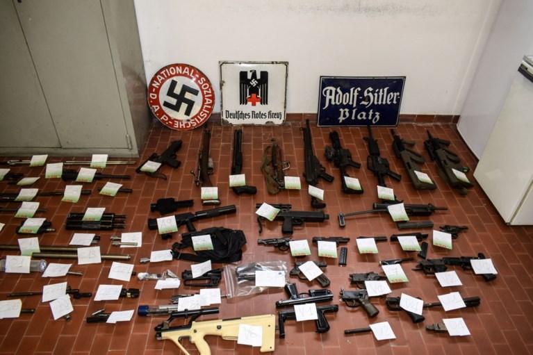 Politie vindt raket en arsenaal aan wapens bij extreemrechtse groepering in Italië