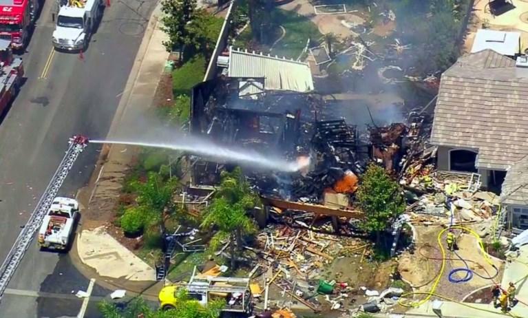 Dode en 15 gewonden bij grote ontploffing in woning in Californië