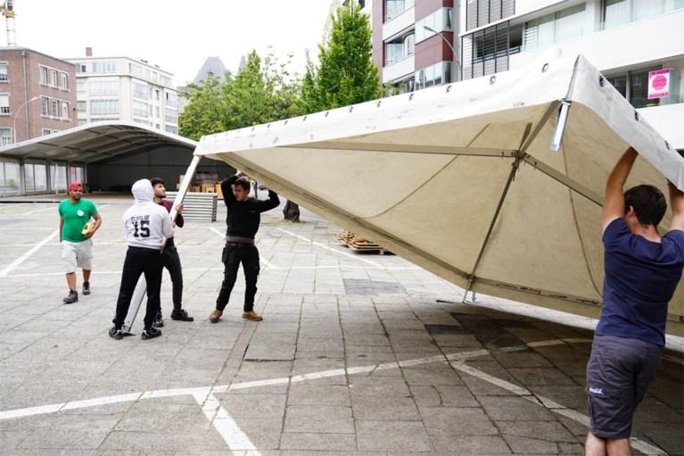 Nog drie dagen: binnenstad is één grote werf voor Gentse Feesten