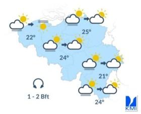 Daar is de zomer weer: zonnige woensdag op komst